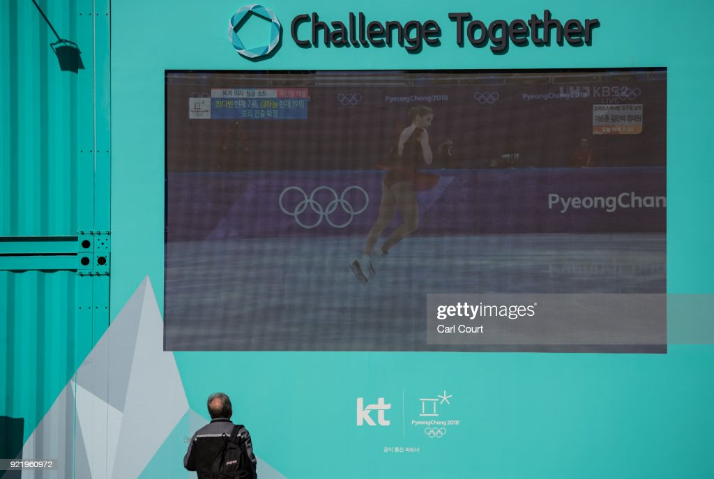Daily Life In Seoul During PyeongChang Olympics : News Photo