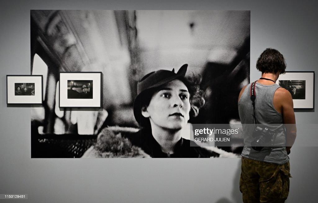 FRANCE-CULTURE-ARTS-FESTIVAL-PHOTOGRAPHY : News Photo