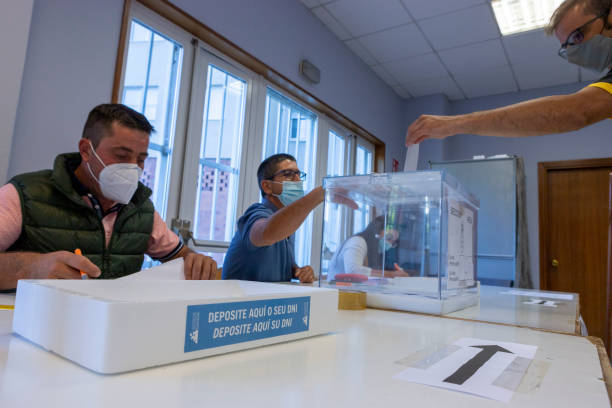 ESP: Elections Day In Galicia
