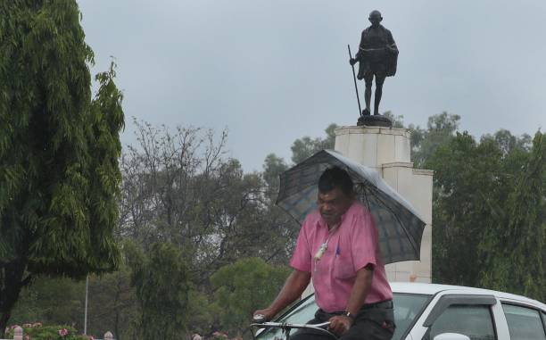 IND: Pre-Monsoon Showers Lash Parts Of Rajasthan