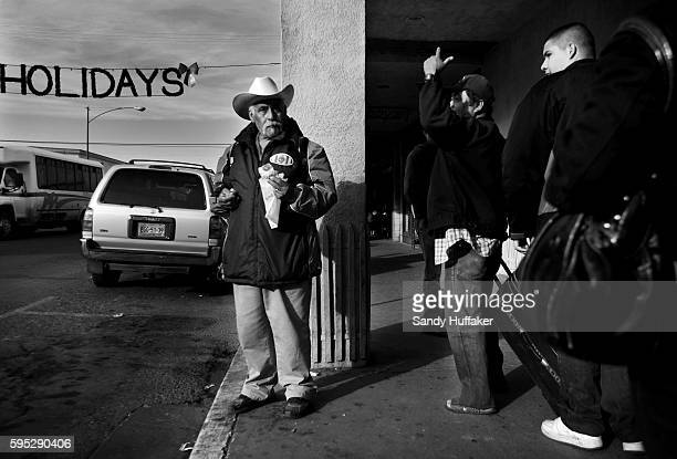 A man waits for work in downtown Calexico California on Wednesday January 5 2011 The Imperial Valley A hot dry and desolate regioon located in the...