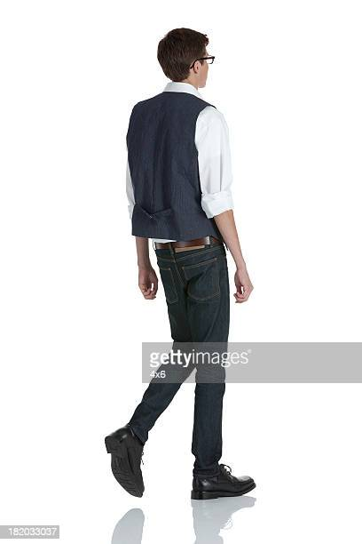 man walking - dress shoe stock pictures, royalty-free photos & images