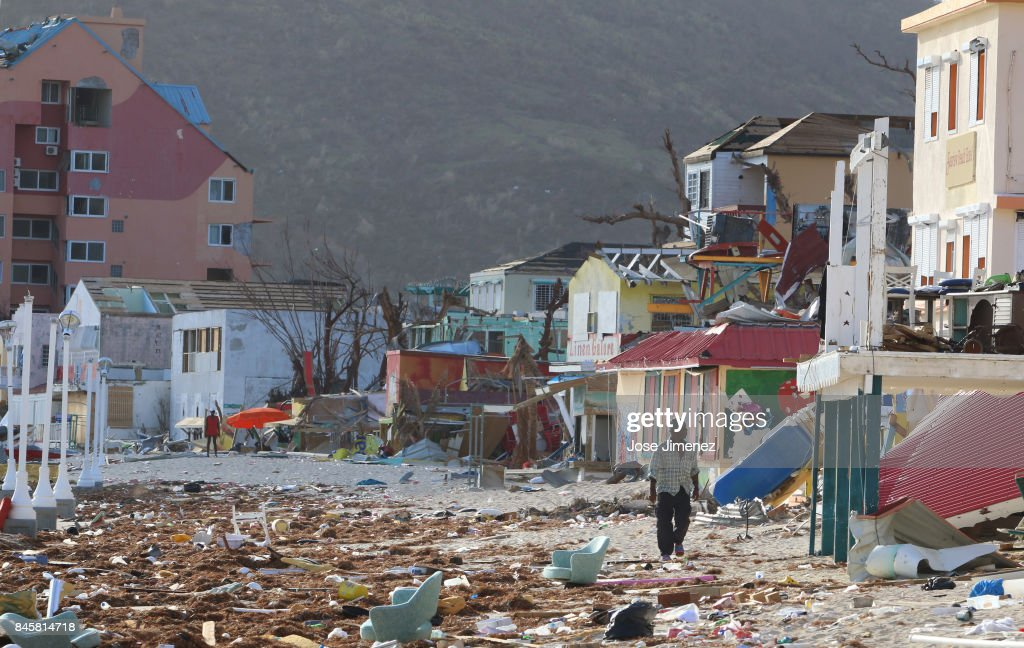 US Military Evacuates US Citizens From Devastated St Maarten : News Photo