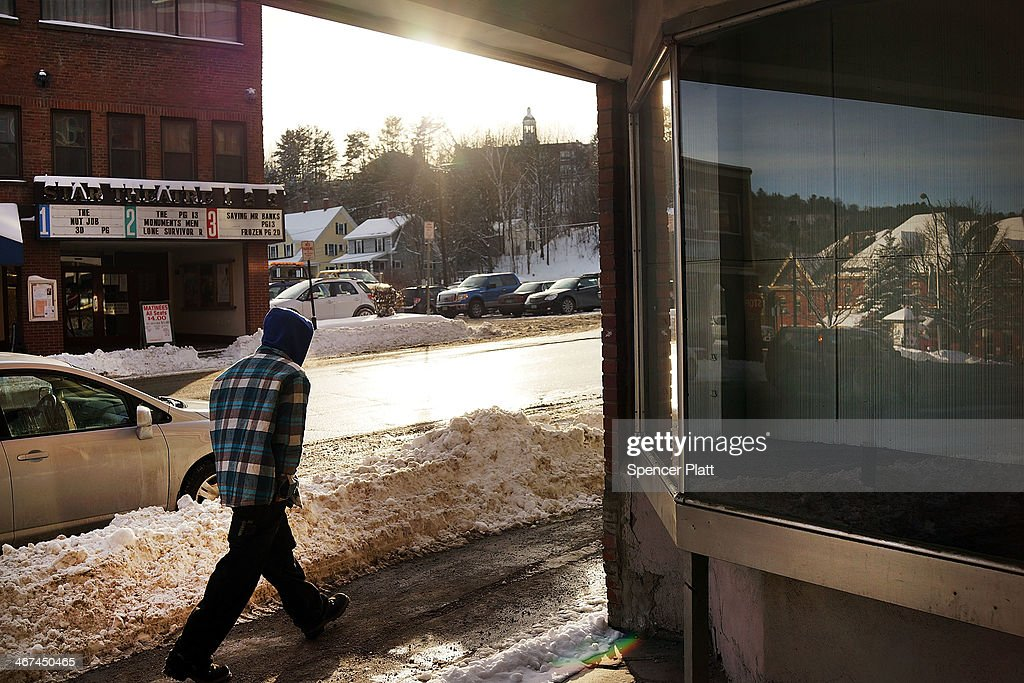 A man walks down a street in St. Johnsbury, a town which has a high rate of heroin users, on February 6, 2014 in St. Johnsbury, Vermont. Vermont Governor Peter Shumlin recently devoted his entire State of the State speech to the scourge of heroin. Heroin and other opiates have begun to devastate many communities in the Northeast and Midwest leading to a surge in fatal overdoses in a number of states. As prescription painkillers, such as the synthetic opiate OxyContin, become increasingly expensive and regulated, more and more Americans are turning to heroin to fight pain or to get high. Heroin, which has experienced a surge in production in places such as Afghanistan and parts of Central America, has a relatively inexpensive street price and provides a more powerful affect on the user.