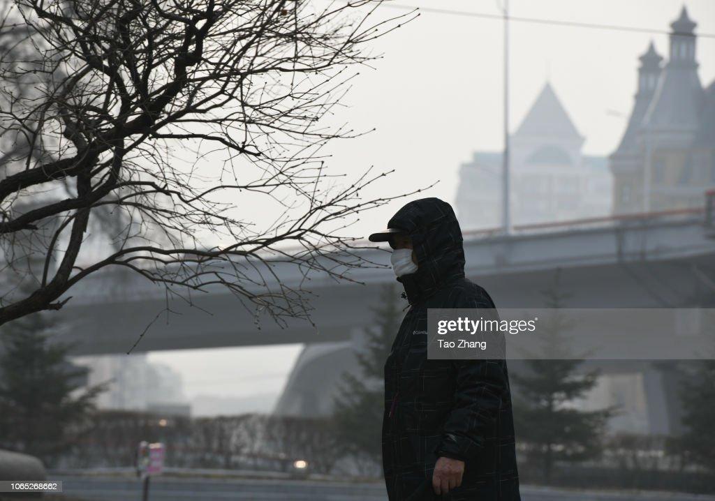 Smog In Harbin : Nieuwsfoto's