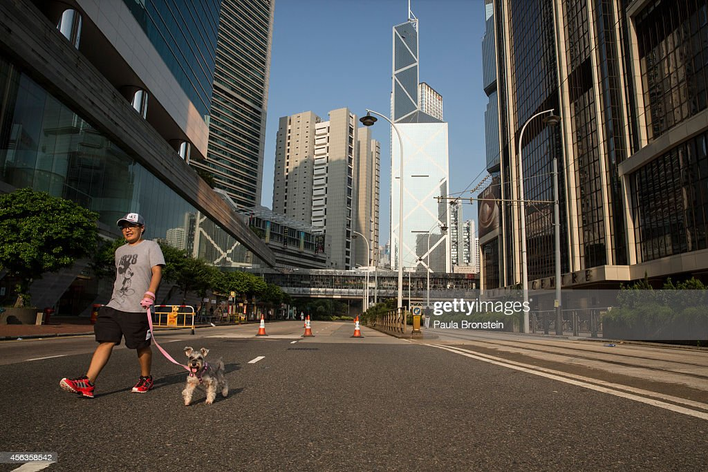 Pro Democracy Supporters Attempt To Bring Hong Kong To A Stand Still With Mass Rally : News Photo