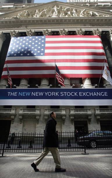 Nyse Group Begins Trading At Stock Exchange Photos And Images