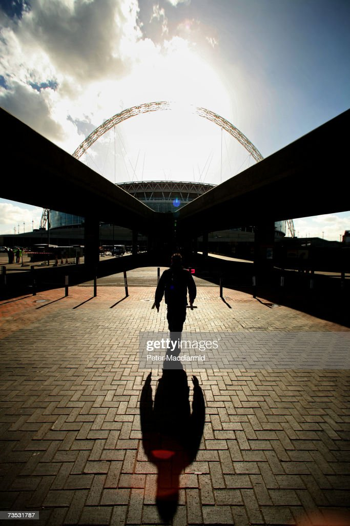 Wembley Stadium Prepares To Open : News Photo