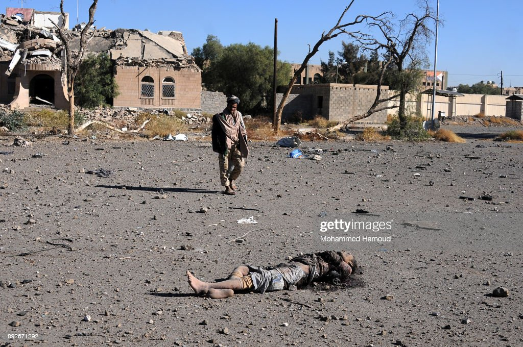 Yemen Sana'a Airstrikes Hits Prison