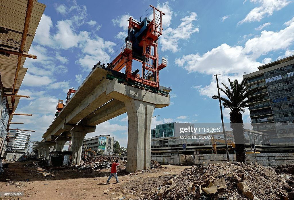 ETHIOPIA-TRANSPORT-RAILWAY : News Photo