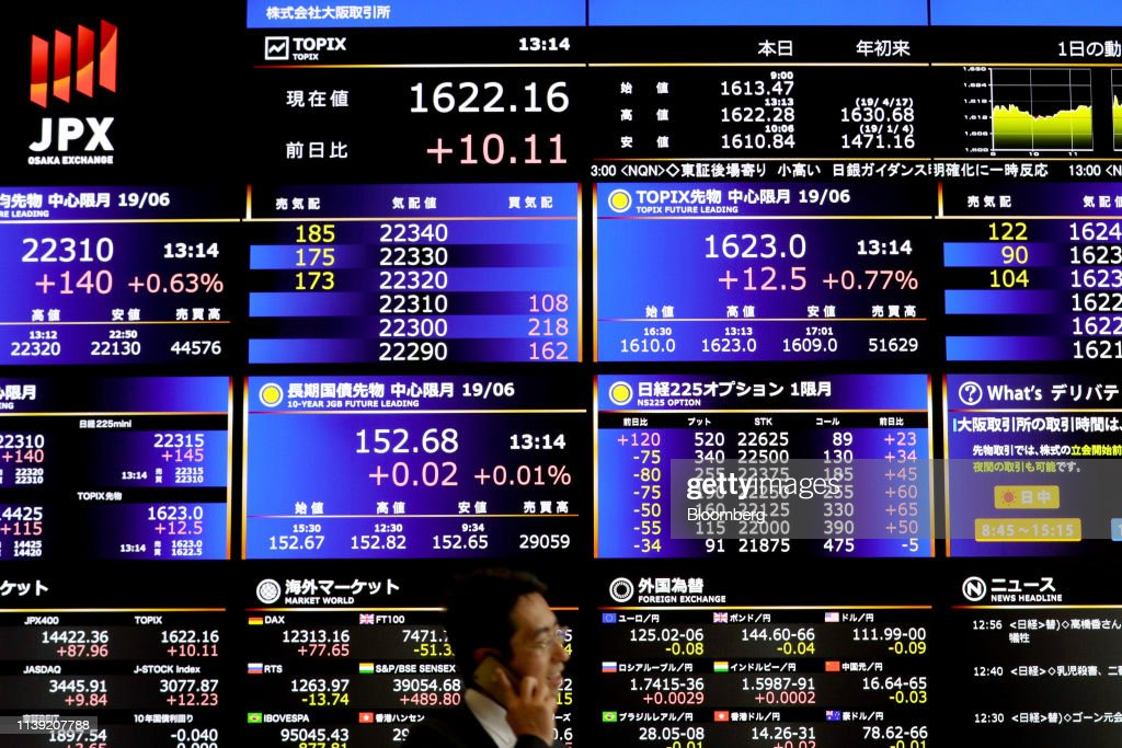 JPN: Views of the Osaka Stock Exchange