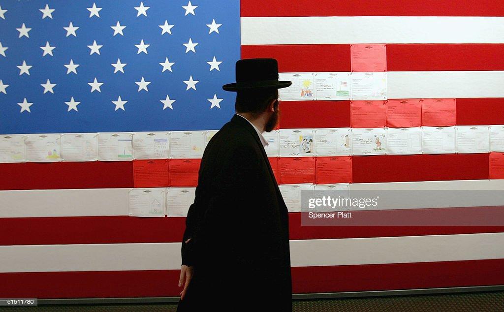 """Democracy Plaza"" Celebrates American Legacy : News Photo"