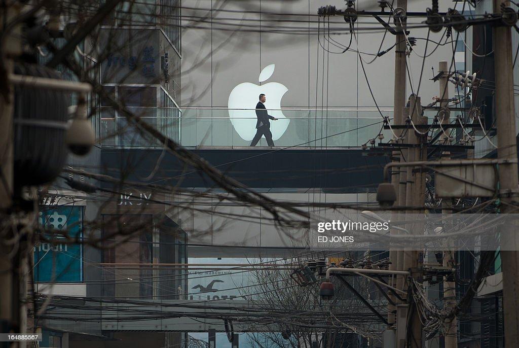 CHINA-US-IT-TELECOM-APPLE : News Photo