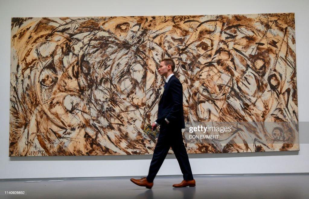 us-art-auction-sotheby : News Photo