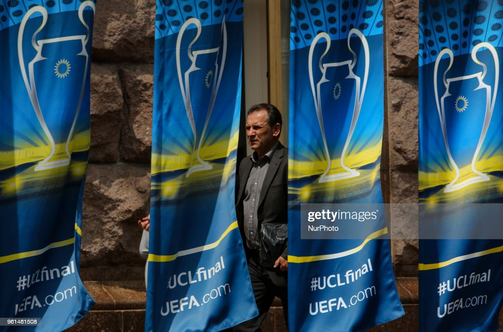 Kiev Prepares For UEFA Champions League Final
