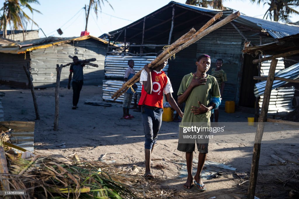 MOZAMBIQUE-WEATHER-CYCLONE-DISASTER : News Photo