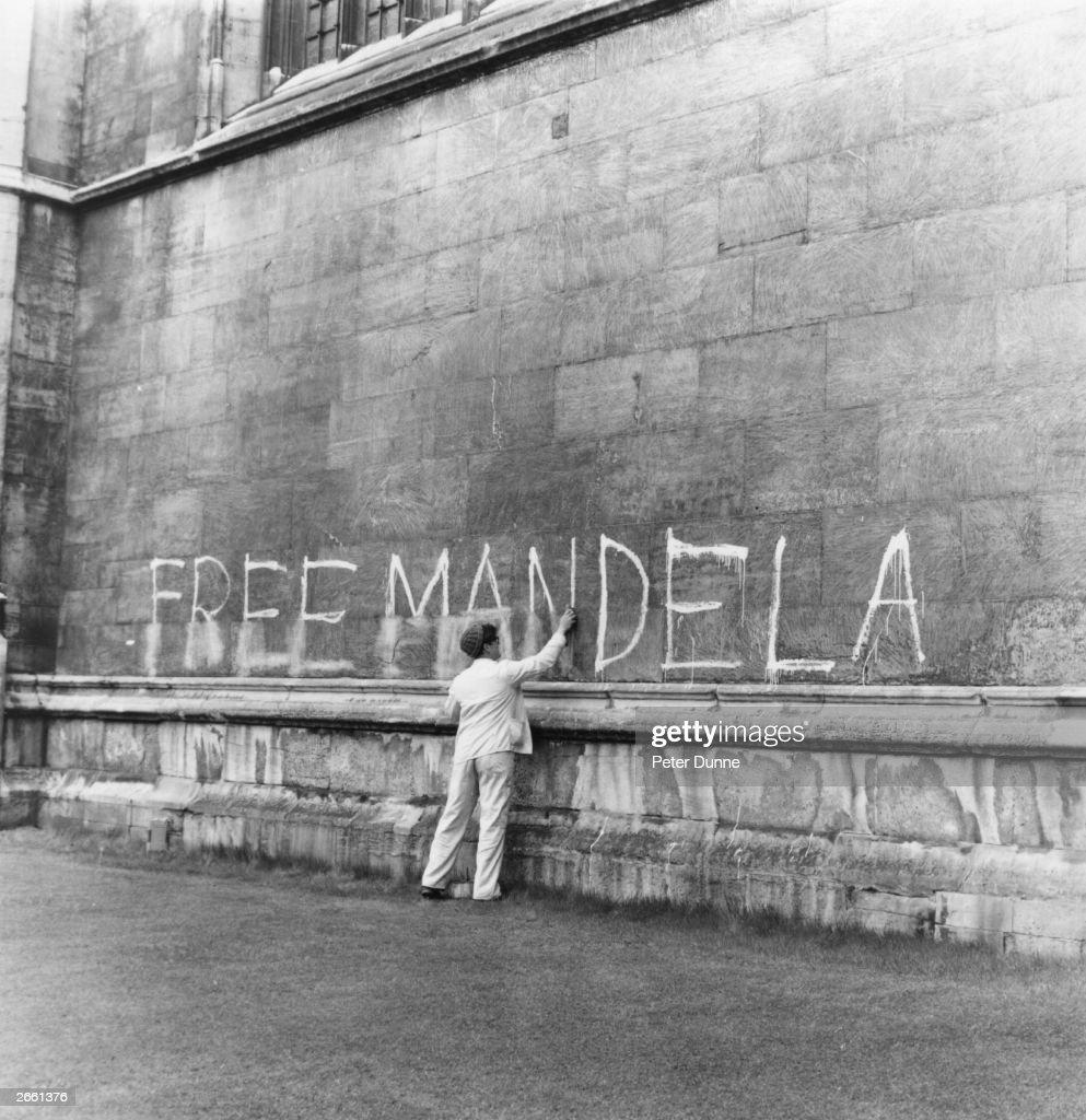 Free Mandela : Nachrichtenfoto
