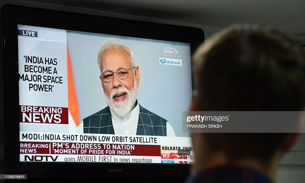 INDIA-POLITICS-DEFENCE-SPACE-MODI : News Photo