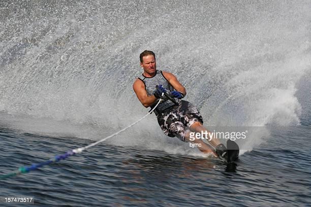 Man Water Skiing