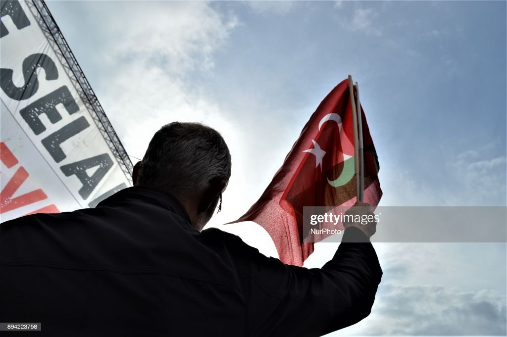 Pro-Palestinian Rally Against US in Ankara