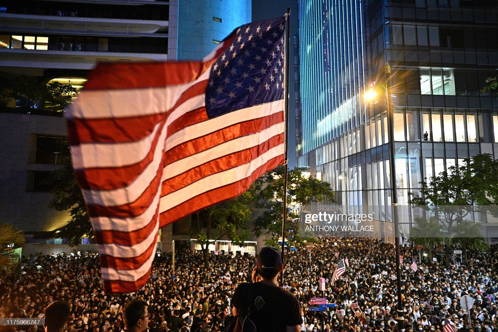 TOPSHOT-HONG KONG-CHINA-POLITICS-UNREST : Nieuwsfoto's