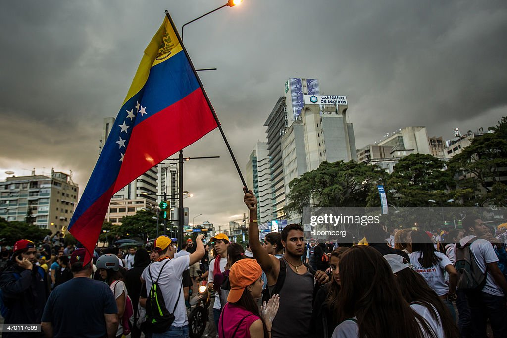 Maduro to Import $1 Billion in Food, Drugs as Venezuelans March : News Photo