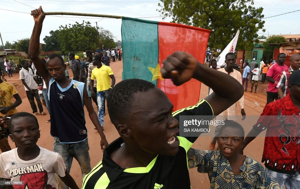 BURKINA-POLITICS-COUP-MILITARY : News Photo