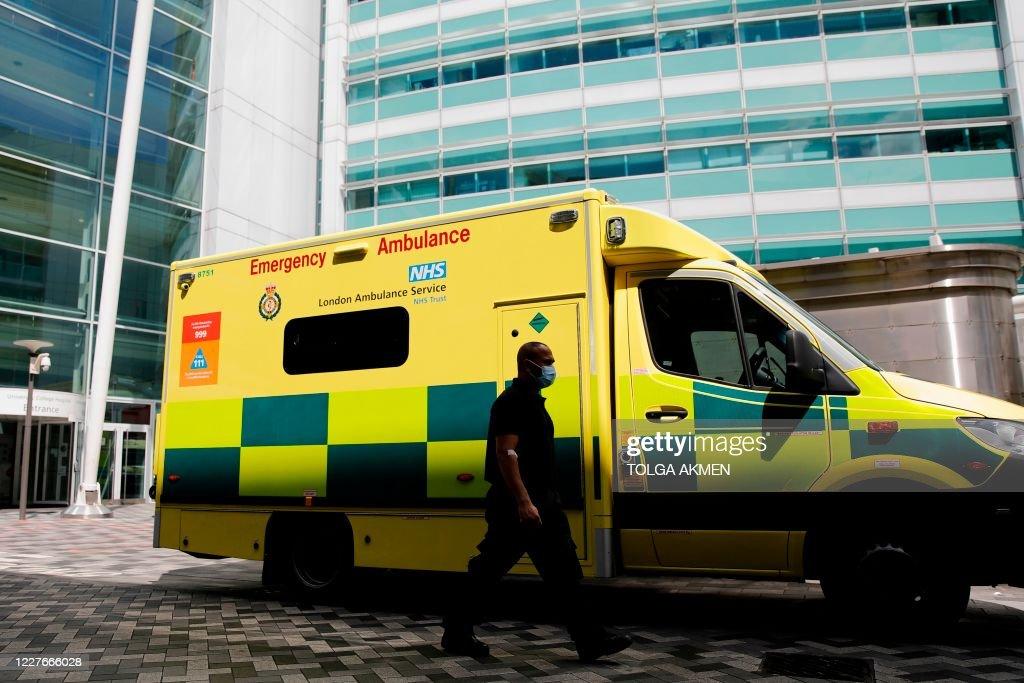 BRITAIN-HEALTH-VIRUS : News Photo
