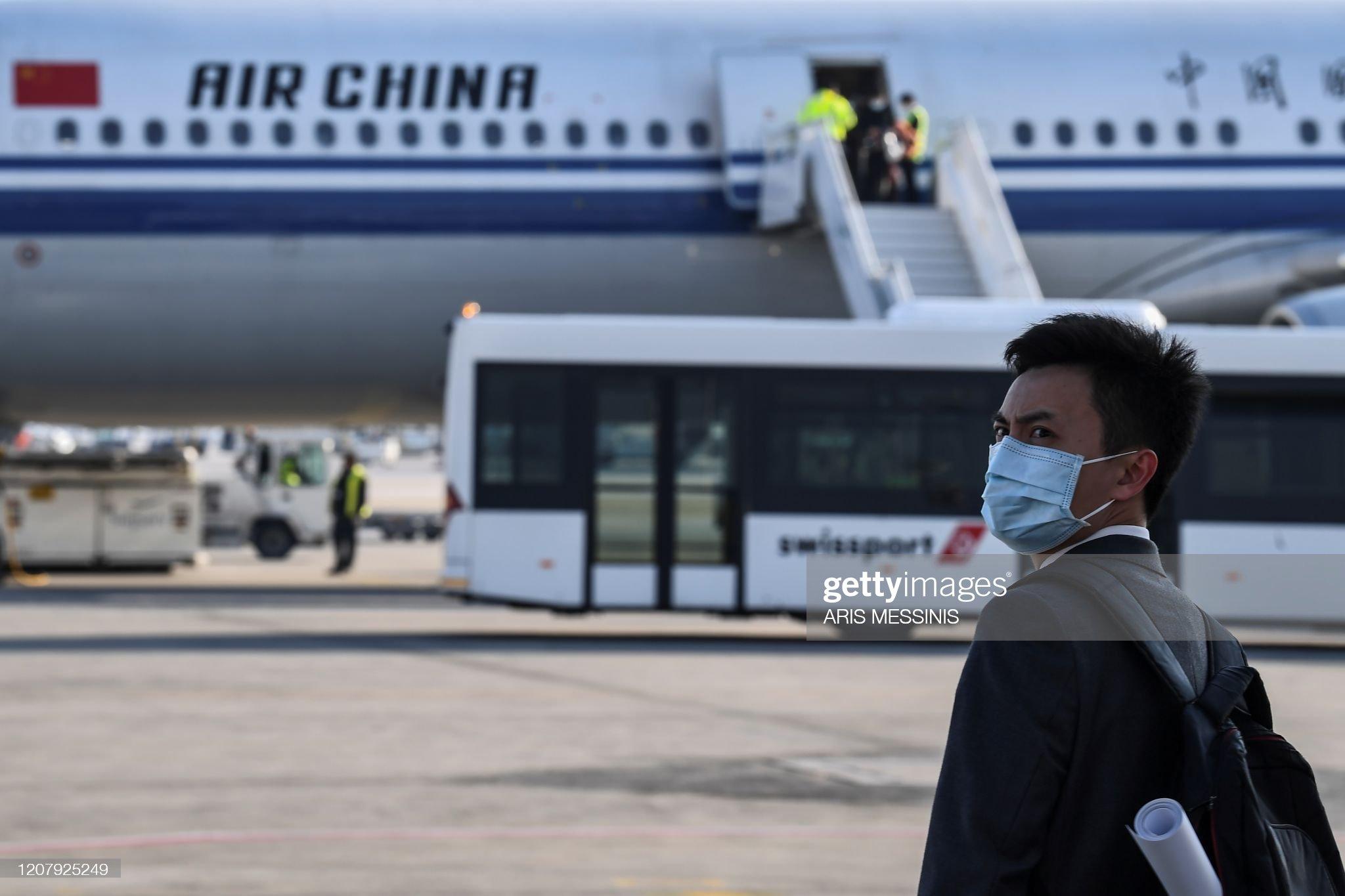 GREECE-CHINA-HEALTH-VIRUS : ニュース写真