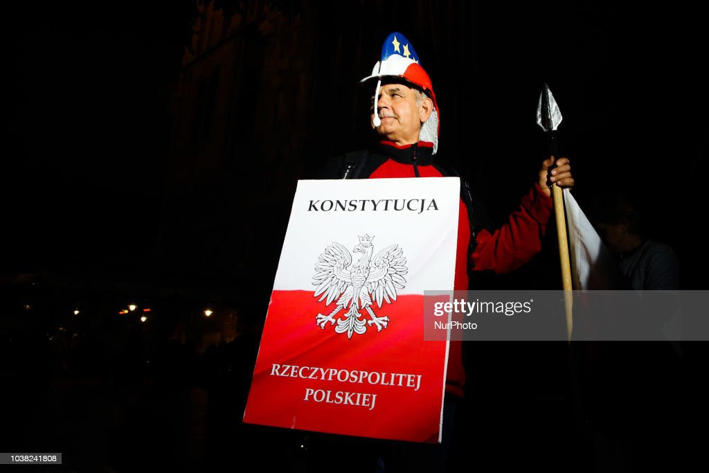 Protest Against Changes Justice System In Poland