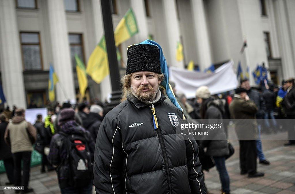 UKRAINE-UNREST-EU-RUSSIA-POLITICS : News Photo