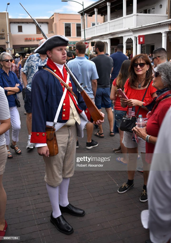 Fourth of July : News Photo