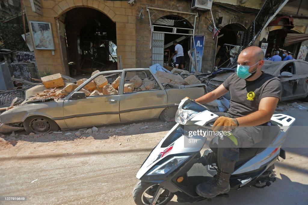 LEBANON-BLAST : Nieuwsfoto's