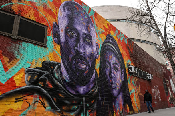 CA: Fans Pay Tribute Marking One Year Since Kobe Bryant Death
