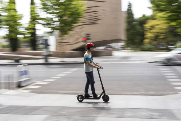 ESP: E-scooters On The Streets Of Spain's Capital