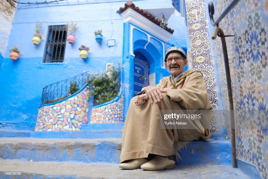 Chefchaouen Of Morroco : News Photo