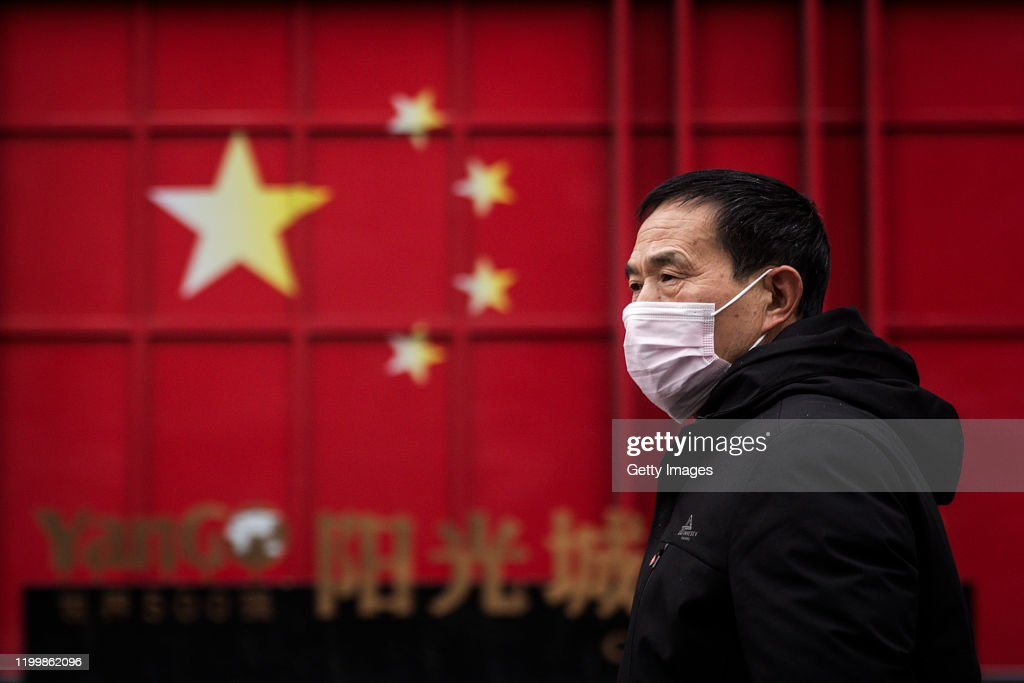 Daily Life In Wuhan During Lockdown : Nachrichtenfoto
