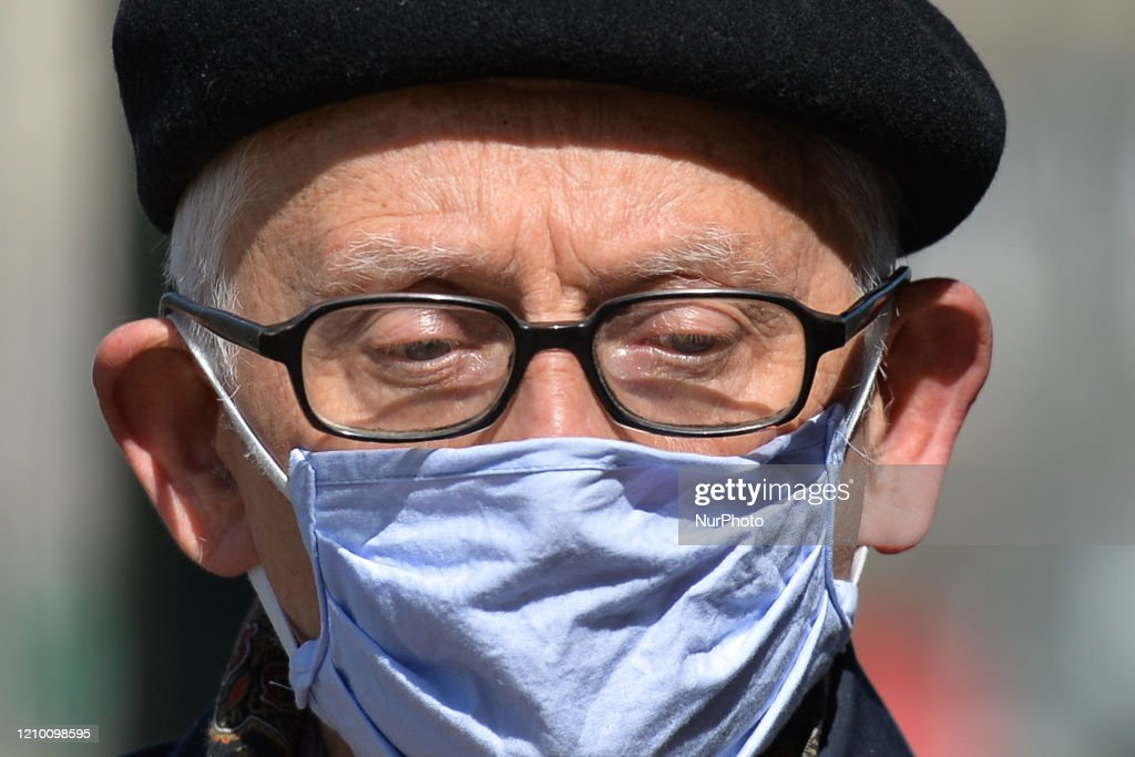 Wearing Face Mask Becomes Obligatory In Poland : News Photo