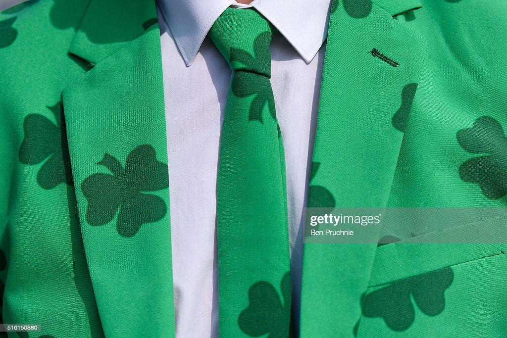 St Patrick's Day At The Cheltenham Festival : News Photo