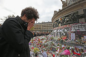 Minute's Silence Held In Paris To Honour The Victims Of The Terrorist Attack