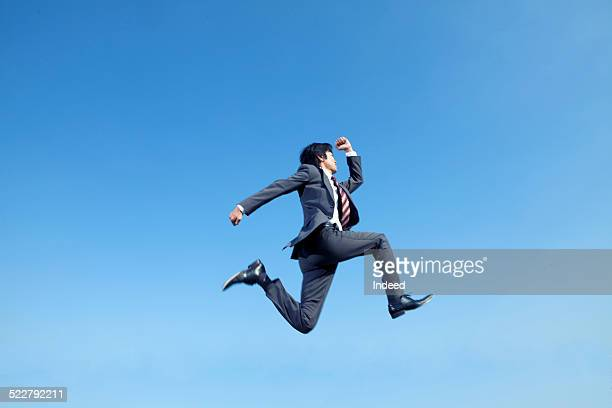 A man who jump