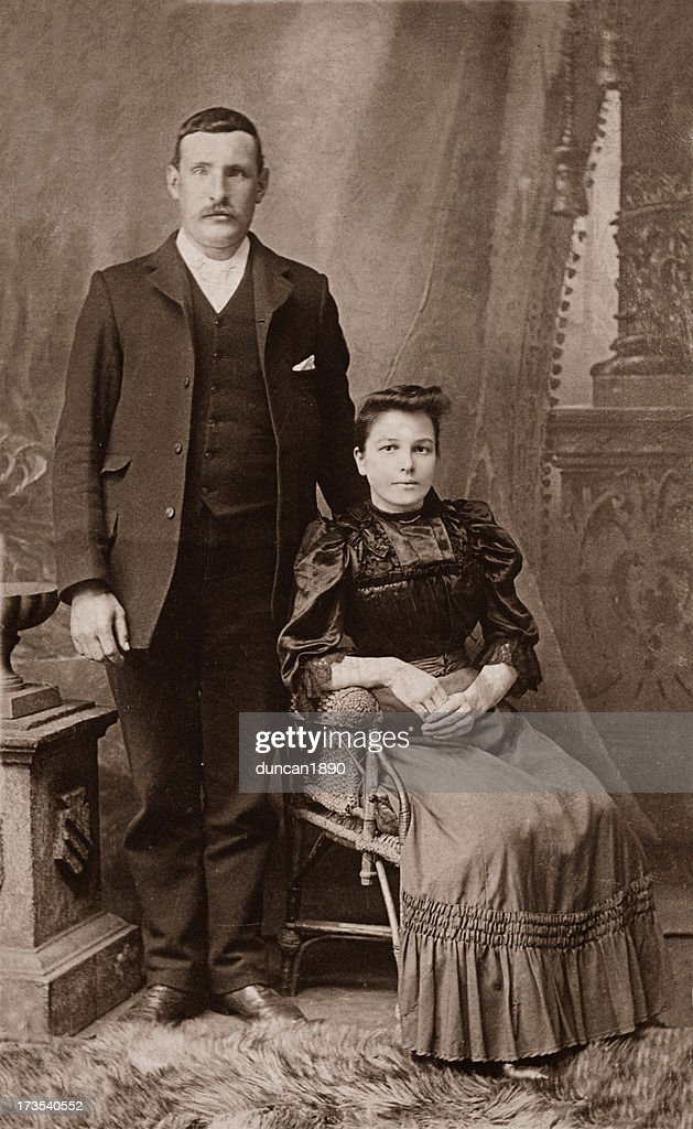 Mann & Frau : Stock-Foto