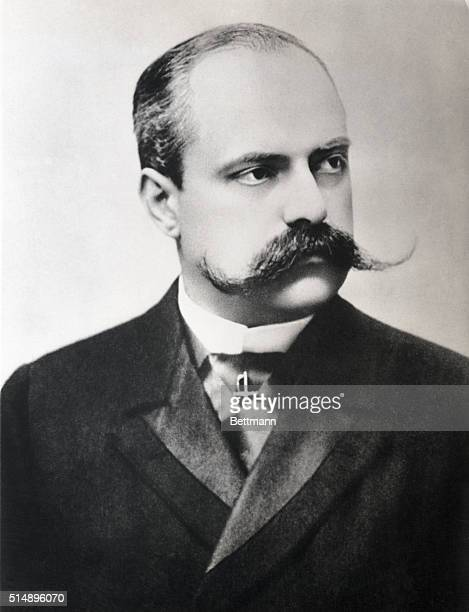 Man with a Handlebar Moustache