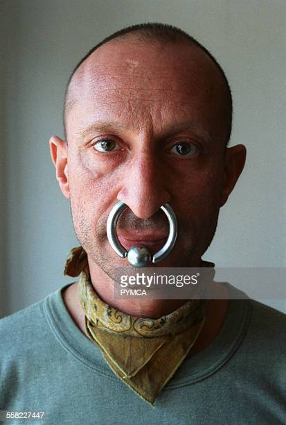 A man with a huge nose ring 1999