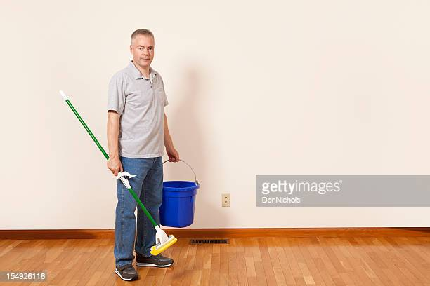 Man with a Mop