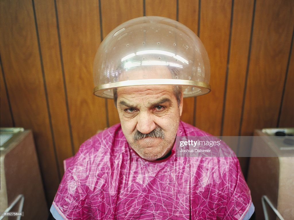 Man with angry expression : Stock Photo