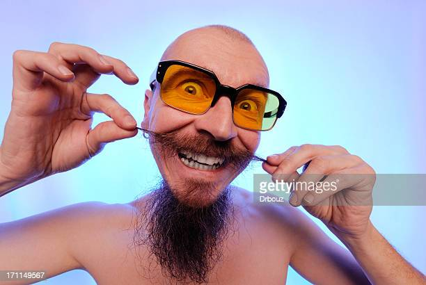 man with beard - comedian stock pictures, royalty-free photos & images