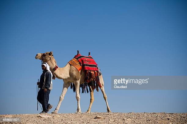 Man with camel