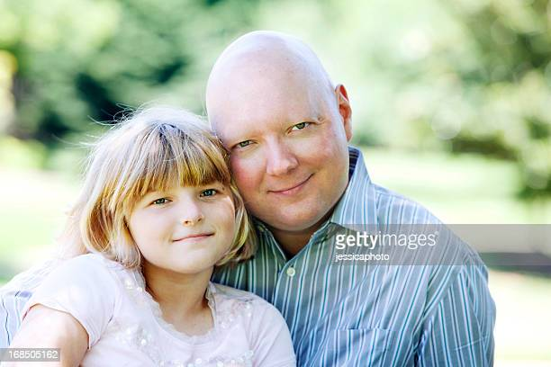 Man with Cancer and His Daughter
