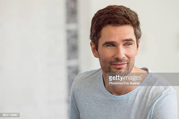 Man with confident air, portrait